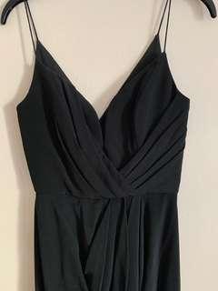 Zimmermann Black Dress 0