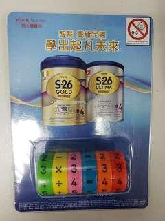 全新惠氏S26數字磁石玩具