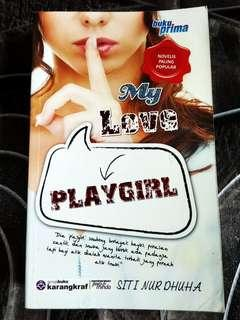 Buku Prima Novel My Love Playgirl Siti Nur Dhuha