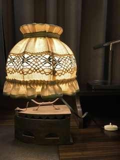 Antique Lamp - Table Lamp - Vintage Lamp
