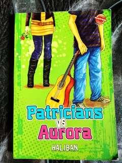 Buku Mustread Teens Novel Patricians vs Aurora