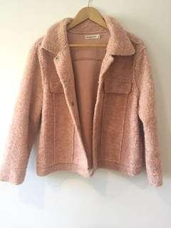 BRAND NEW! Dusty Pink Jacket