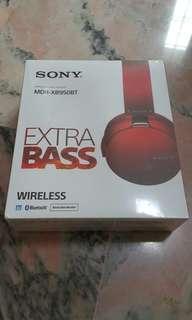 [New] Unopened Sony headphones MDR-XB950BT