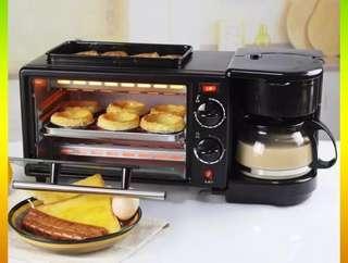 3 in 1 multifunction breakfast maker