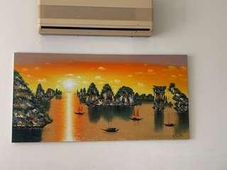 🚚 Wall Painting/oil painting