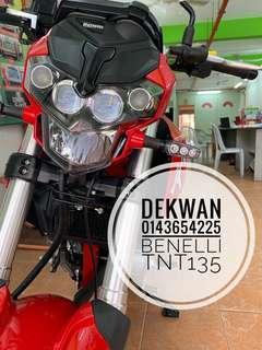 Benelli TNT135 ic & Slip Gaji 1 Bulan