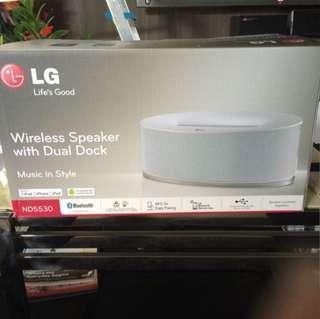 [BNIB] LG Wireless speaker With Dual Dock ND5530