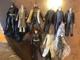 Mattel The Dark Knight Trilogy Figures + Mafex Selina Kyle 1.0