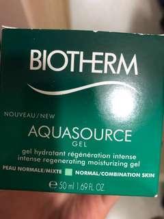 Biotherm 面霜aquasource gel50ml