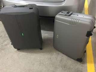 Two luggages FREE, as is