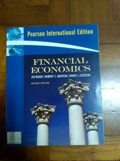"""Financial economics"" 2nd edition, 全新未用過。"