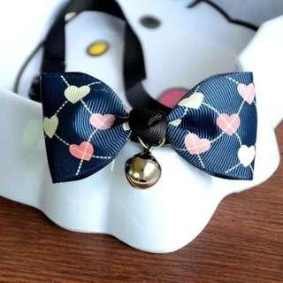 Adjustable Pet Collar Bow Kitten Cat Puppy Dog