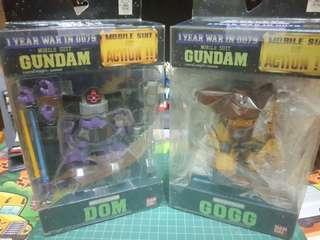 *BUNDLE* Bandai MS in Action MSiA Gundam 0079 Zeon MS Set