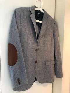 Mens H&M Blazer Suit Jacket