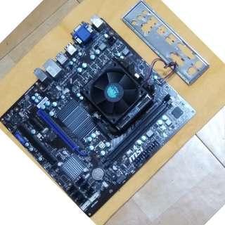 🚚 AMD FX(tm)-4200 Quad-Core+M/B