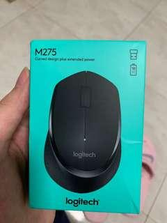 Logitech wireless mouse (very comfortable)