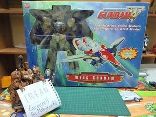 *SALE* Bandai VINTAGE 1/60 DX Transformable Gundam Wing(Toonami-Exclusive)