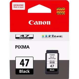 Canon Ink (Black) PG-47 / PG47