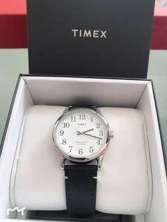 BN Timex watch 100% leather strap