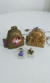 (2 Compact) Vintage Polly Pocket Disney