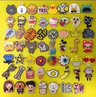 Cute Acrylic Cartoon Pin Badges
