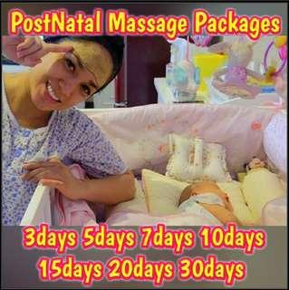 Post-Natal Massage Packages