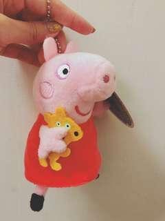 🚚 佩佩豬小玩偶吊飾