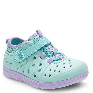 Stride Rite Made2Play Phibian Turquoise Water Shoes - brand new