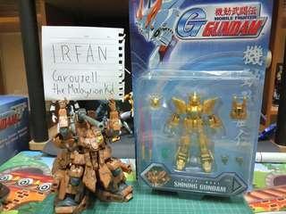 *SALE* Bandai Vintage MS in Action Figure God Gundam Hyper Mode