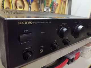Onkyo integrated stereo amplifier give away free