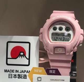 (日本直送) 日本製造 Made in Japan 最後兩隻 全新Casio 粉紅櫻花限定 手錶