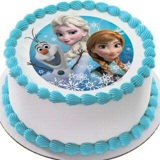 🚚 Frozen themed Cakes Birthday Cake Cupcakes