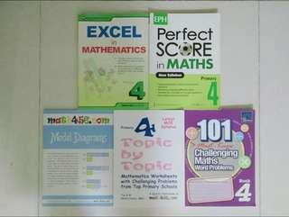Pri 4 Maths Assessment Books