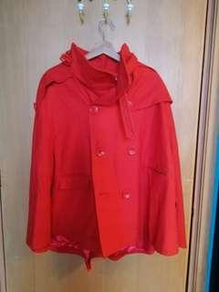 Red Cape, jacket. One size