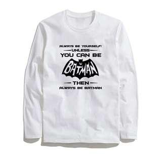 [preorder] you can be batman long sleeve