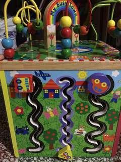 四面教育木製玩具
