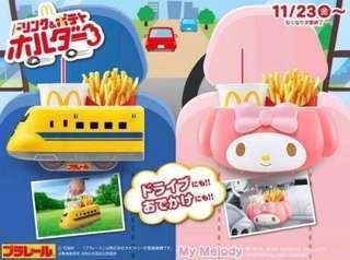 日本 麥當勞xTOMY聯名款薯條飲料餐盒