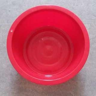紅A 膠盤 No. 1755 軟膠盤 plastic bowl basin tub
