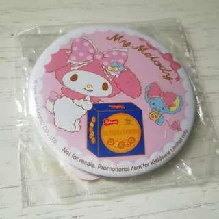 My Melody Pin Badge x Kjekdsens cookies