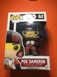 """Pop funko star wars """"poe dameron"""""""