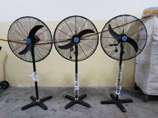 """Brand New 26"""" industrial stand and wall fan on Offer!"""
