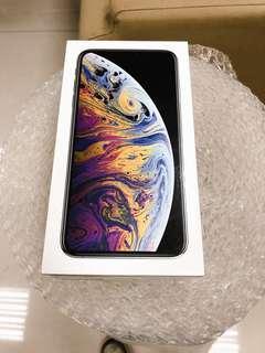 iPhoneXS MAX 256G 銀色 (陸版雙SIM卡)