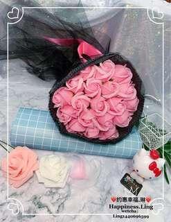 flower soap rose