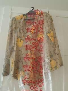 Kebaya Silk Moden