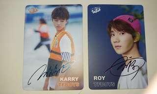 TFboys yes card