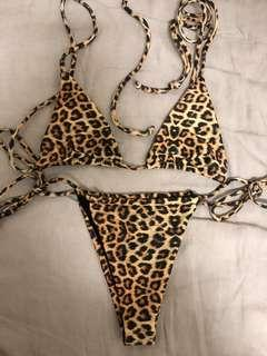 Andi Bagus Leopard Print Bikini