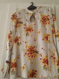 Baju Kurung Silk moden