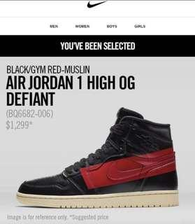 Nike Air Jordan 1 High OG Defiant