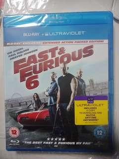 Blu-ray disc + ultraviolet edition (fast and furious 6)