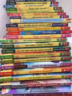 🚚 Assorted Geronimo Stilton books (Soft cover)